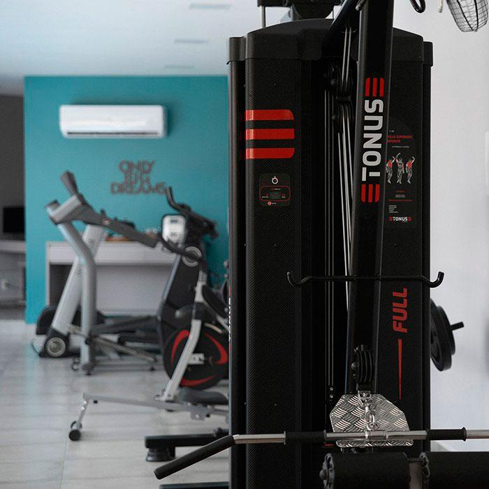 Alugar estação de musculação