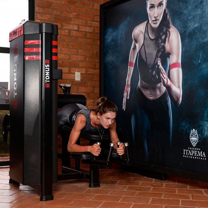 Equipamentos fitness profissional