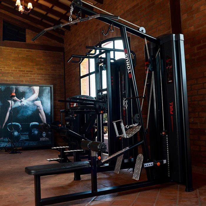 Fornecedores de equipamentos de fitness