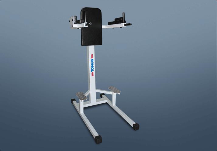 Paralela para tríceps e abdominal
