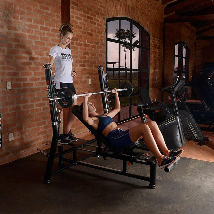 Aparelhos fitness para academia