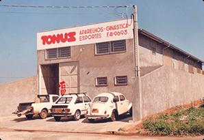 primeira sede da empresa